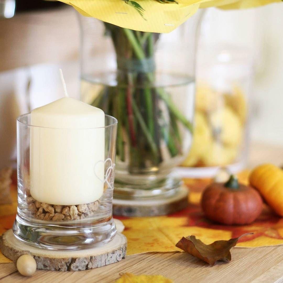 [Anzeige]  Ich wünsche euch einen schönen Freitag ihr Lieben!!   Für mich heißt es heute noch ein wenig herbstliche Deko basteln und nächste Woche wird unsere neue Wohnzimmerschrankwand aufgebaut. Da darf dann endlich meine aktuelle Herbst-Deko von @leonardoglas an seinen neuen Platz einziehen.   Wie meine herbstliche #Dekoration aktuell aussieht könnt ihr euch auf dem Blog anschauen  http://ift.tt/2ykAgVy #linkinbio