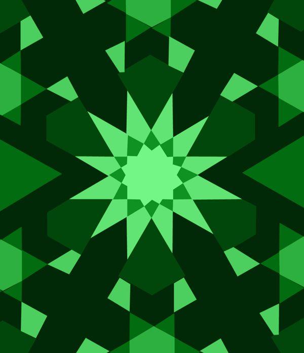 Islamic Patterns by Carol Khoury, via Behance