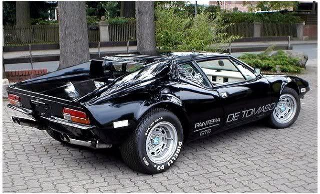 1973 Detomaso Pantera Gts Muscle Cars Classic Cars Car