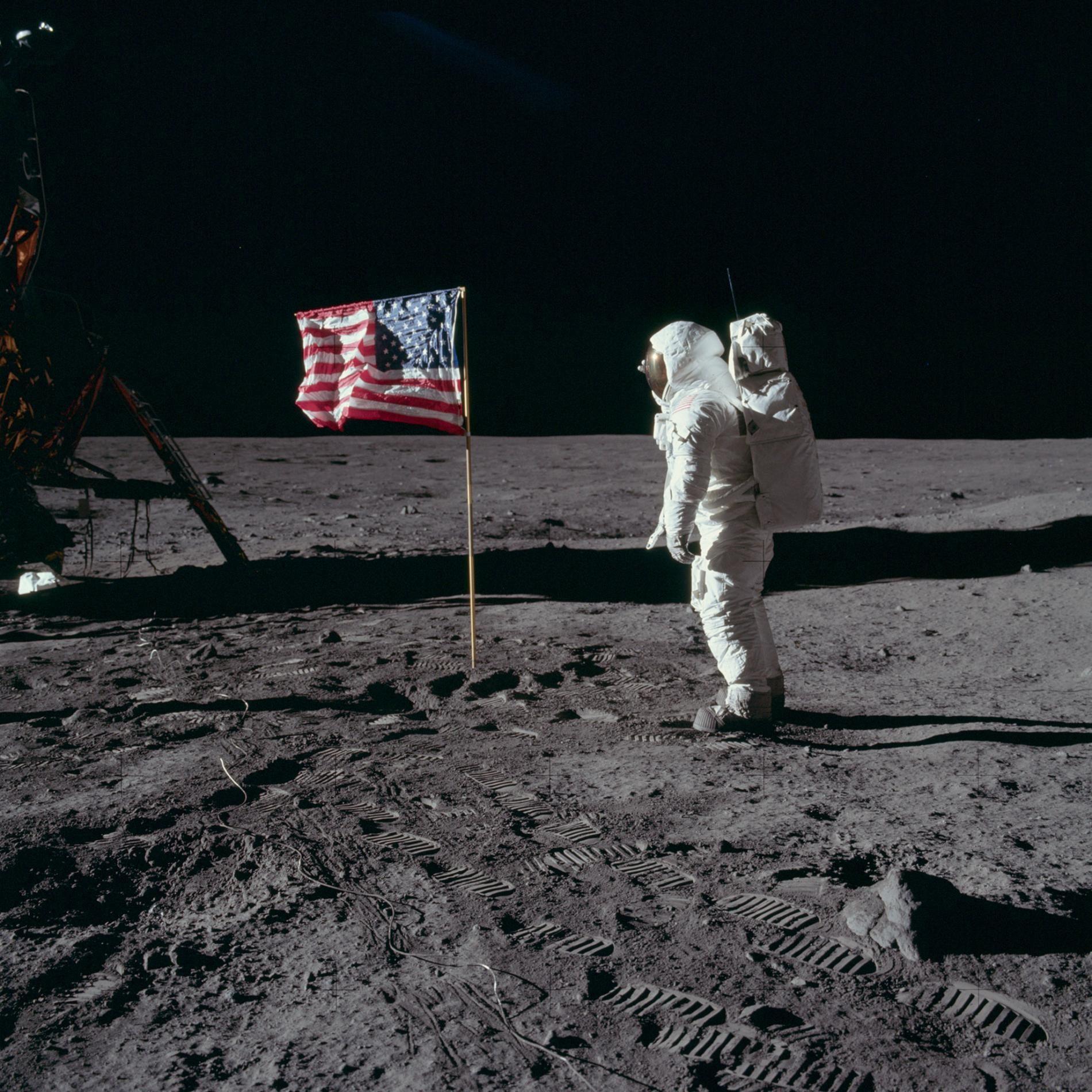 Apollo 11 Moon Landing Crew 8x10 Silver Halide Photo Print