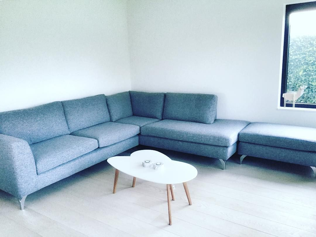 Le nouveau couch est arrivee! #couch #furniture #interior #home #grey #happy by wendilita60