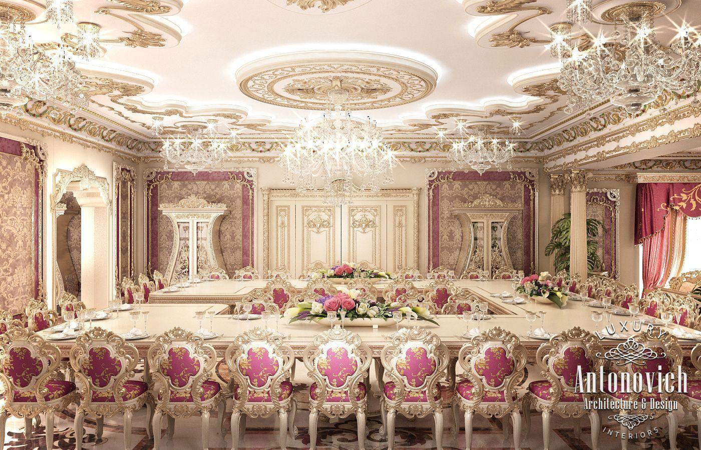 Spa Interior Design By Kateryna Antonovich Luxury Interior Design Elegant Interior Design Dining Room Interiors
