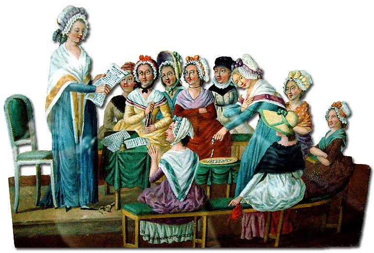 Pin On Les Femmes A Travers L Histoire Francaise 1789 1875