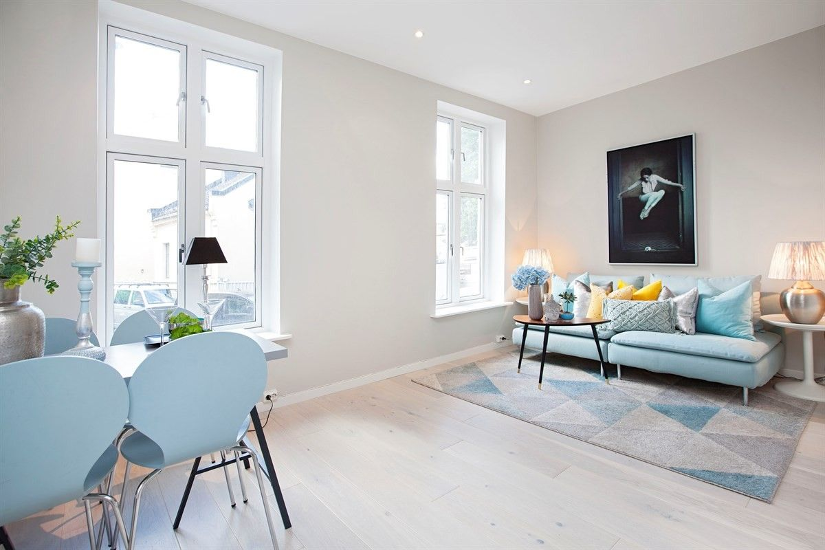 Prime Ikea Soderhamn Sofa Blue With Blue Dining Chairs And Blue Theyellowbook Wood Chair Design Ideas Theyellowbookinfo