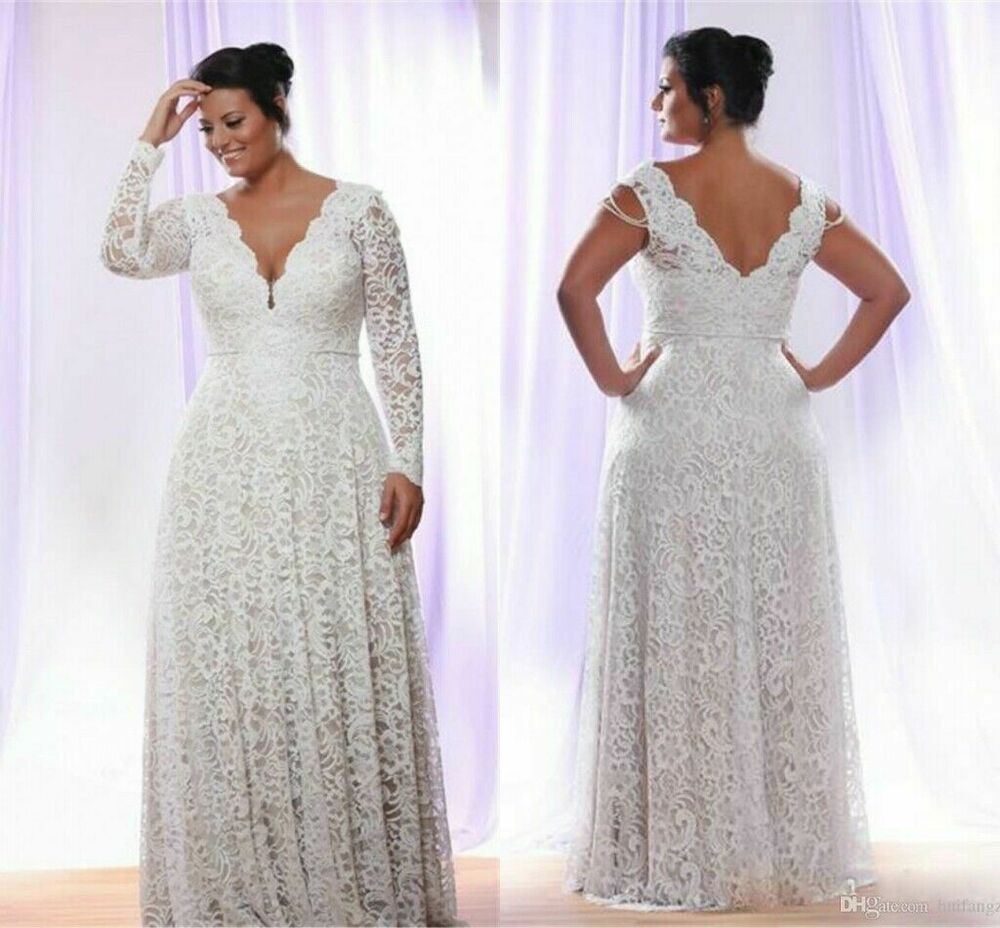 Plus Size Wedding Dresses On Ebay | Coolbs Dresses Official ...