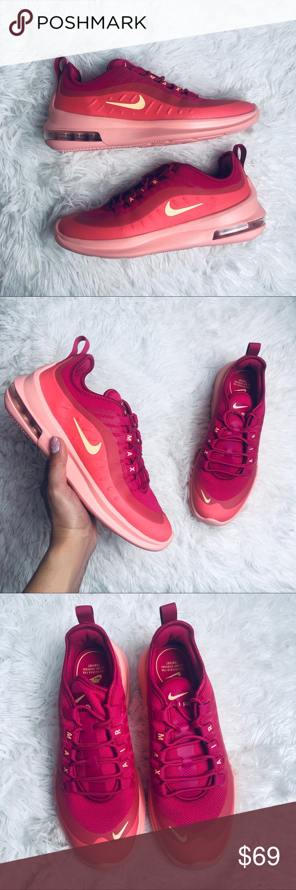 Nike Women's Air Max Axis (Rush Pink | Melon Tint