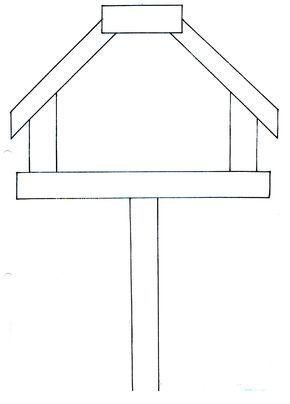 Afbeeldingsresultaat Voor Vogelhuis Tekenen In Stappen Zima
