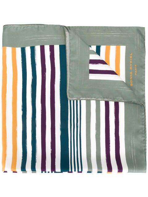 549af3d729 SONIA RYKIEL striped scarf. #soniarykiel #scarf | Sonia Rykiel ...
