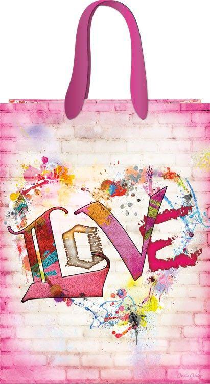 gift wrap - love