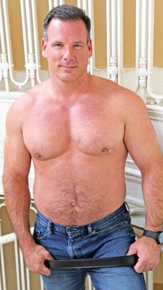 daddy men muscle celebre Hairy