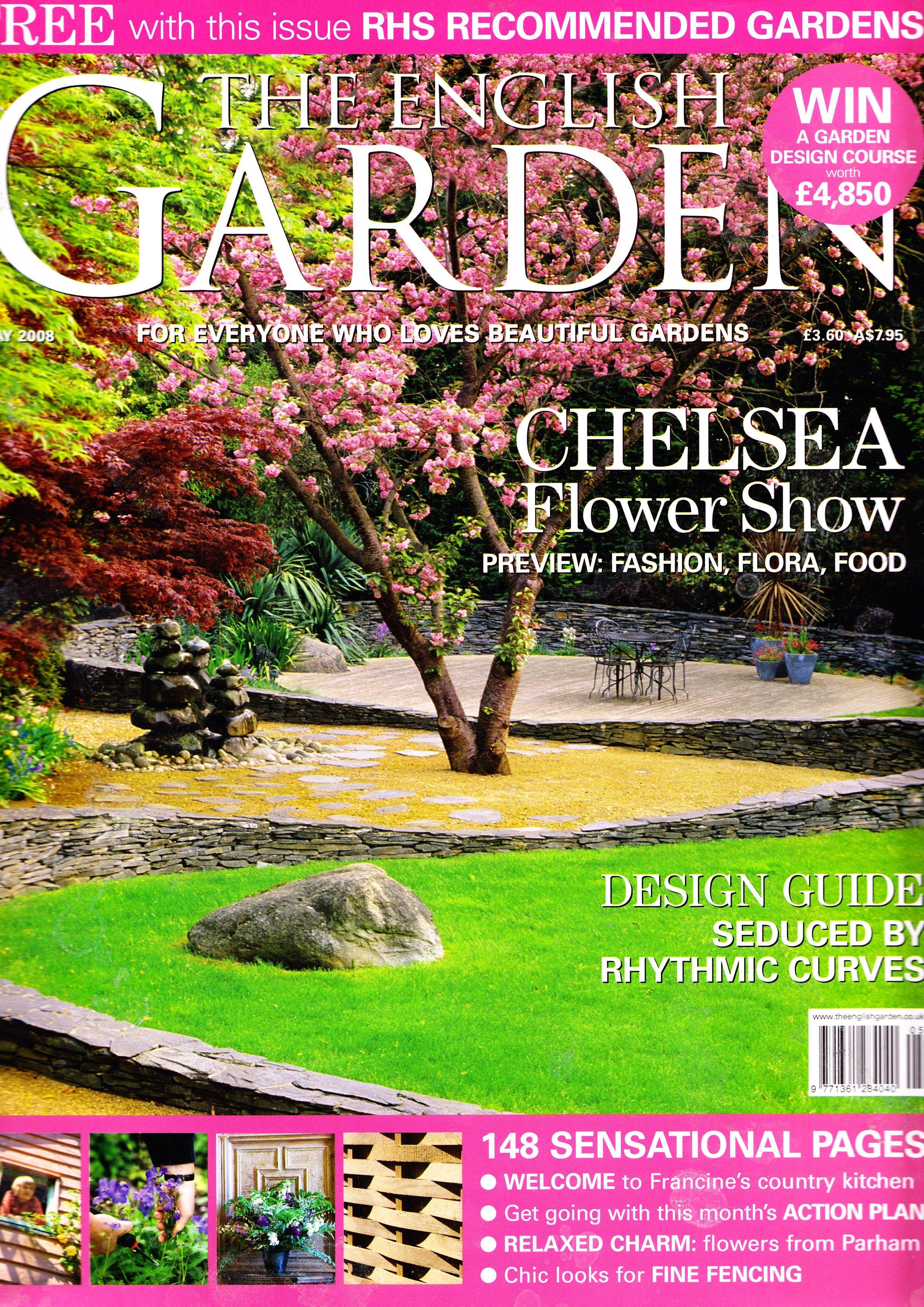 Publication Cover Foster Garden Chelsea Flower Show Beautiful Gardens Design Guide