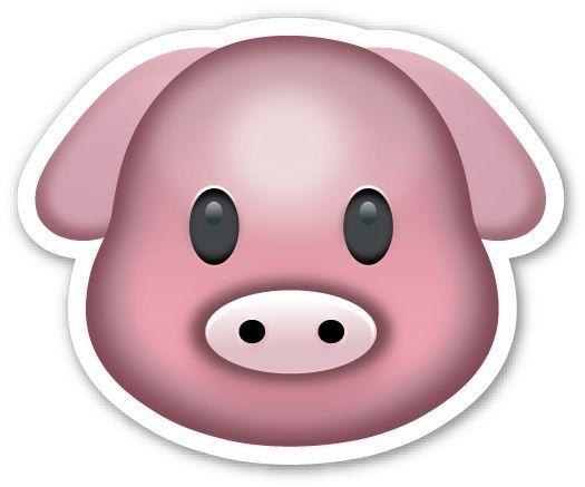 Pin By Agustina Arizaga On Emojis Tumblr Emoji Stickers Pig Face Emoji