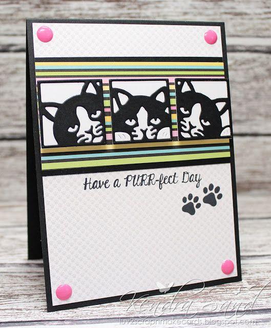 Luv 2 Scrap N' Make Cards, Kendra Sand, Handmade Card
