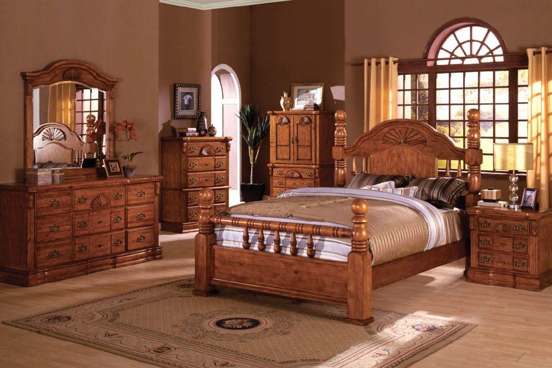 80s Color Palette King Size Bedroom Sets Elegant Oak King ...