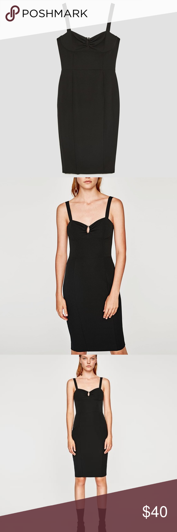 Zara black dress nwt zara black dress zara black and zara dresses