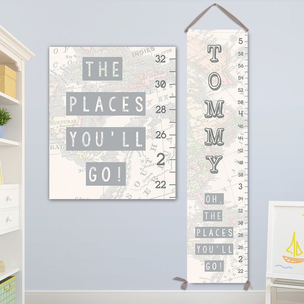 Oh the places youll go art personalized canvas growth chart oh the places youll go art personalized canvas growth chart height chart boy growth chart canvas growth chart by jolieprints on etsy nvjuhfo Gallery