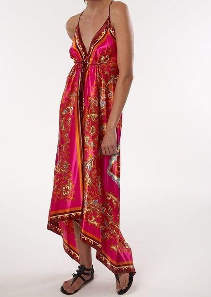 Two Scarf dress