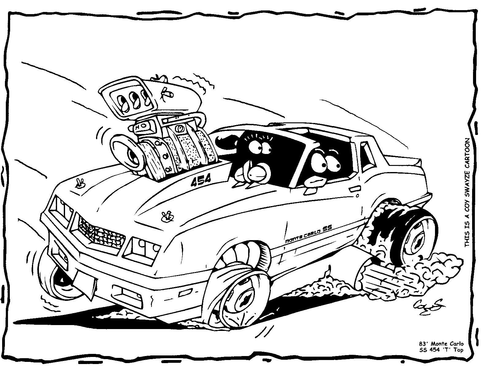 Gasser Cartoons 57gasser20detail Cartoons Car Drawings