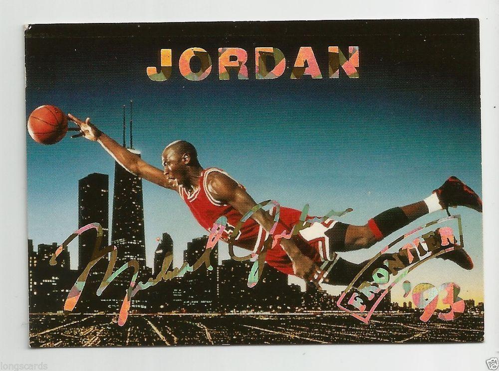 1993 frontier gold auto michael jordan michael jordan