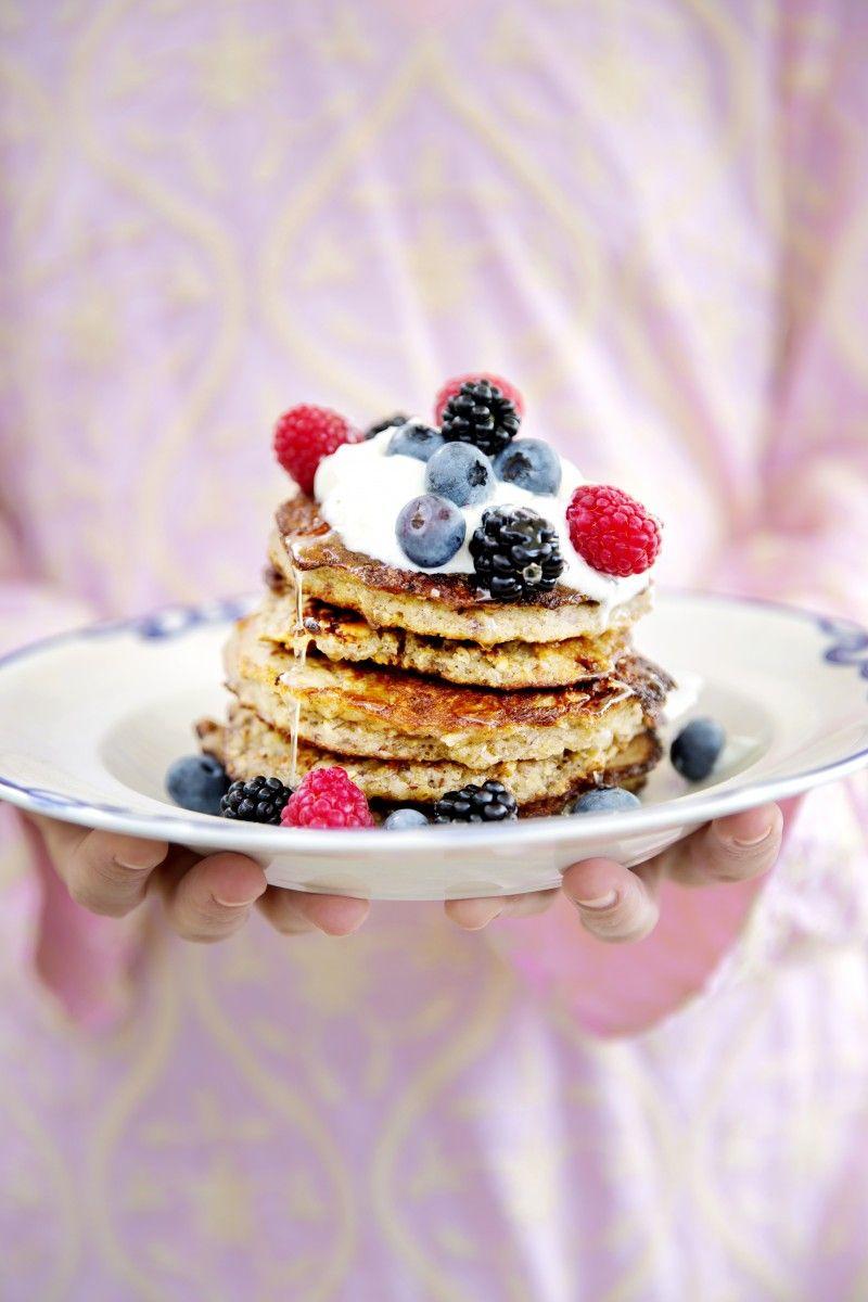 Lette Lækre Og Sunde Pandekager Uden Sukker Og Gluten De Sunde