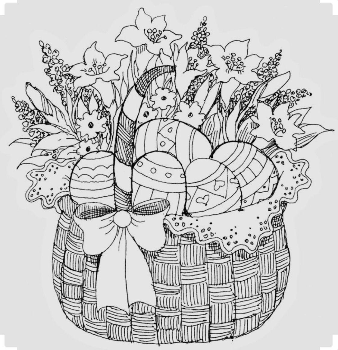 Pin von Frida Müller auf Mandala | Pinterest | Malvorlagen ostern ...