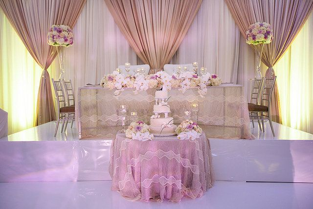 Enchanted Head Table