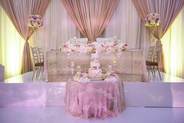 Enchanted Head Table | Sweetheart tables | Wedding ...