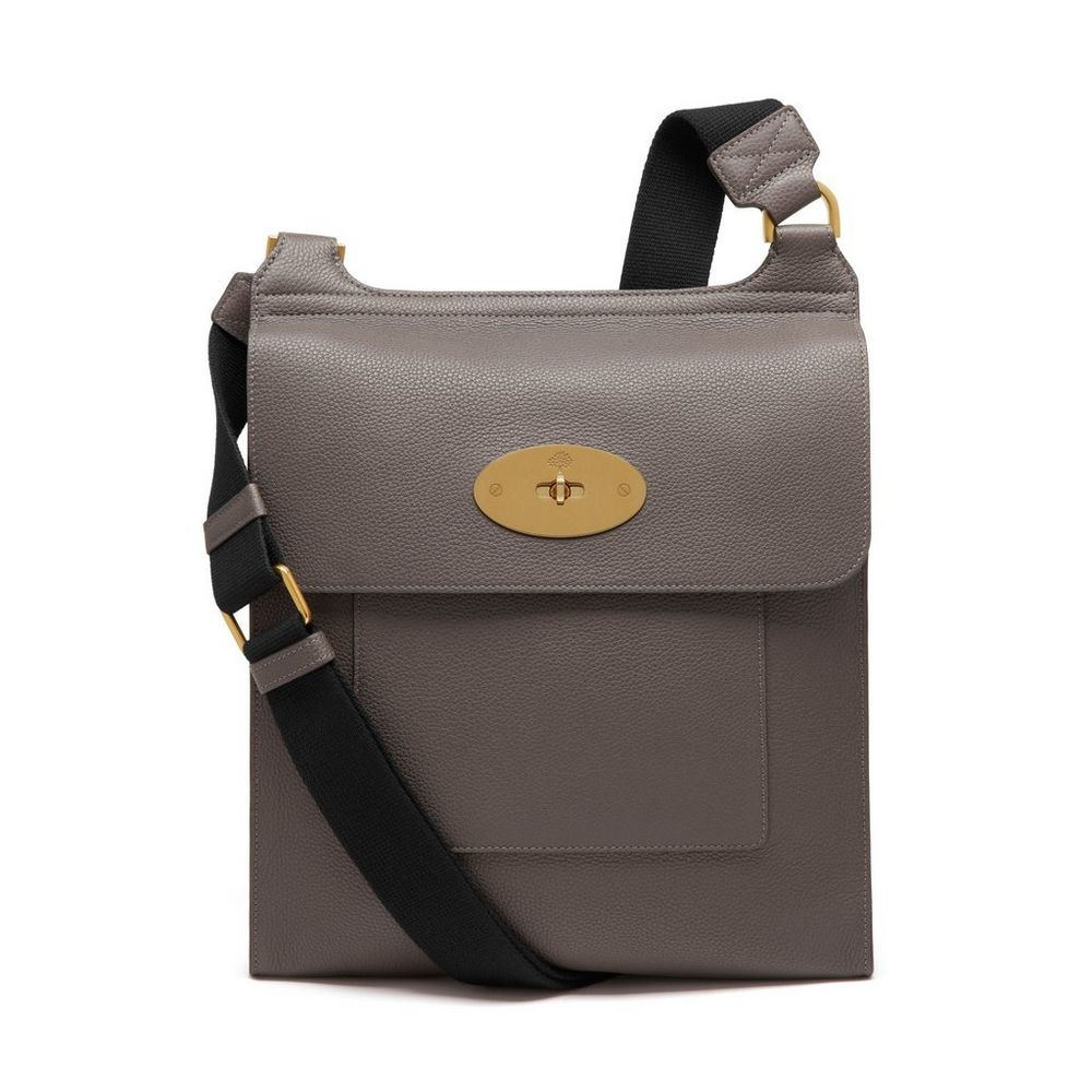 f3bb222154 Shop the Antony Messenger in Dark Grey Small Classic Grain at Mulberry.com.  A functional and stylish, unisex bag, fashioned in a larger size of the  classic ...