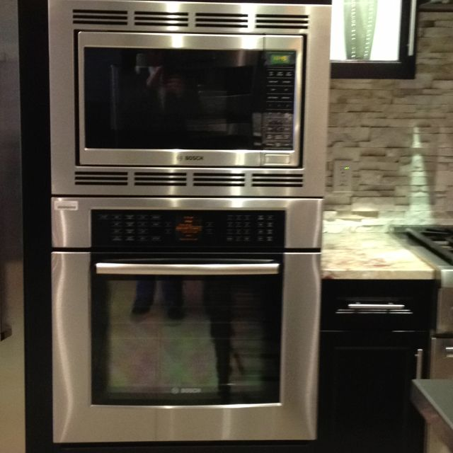 bosch wall oven and microwave