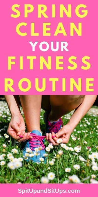 Spring Clean Your Fitness Routine | Spit Up and Sit Ups #fitness #exercise Get your exercise routine...