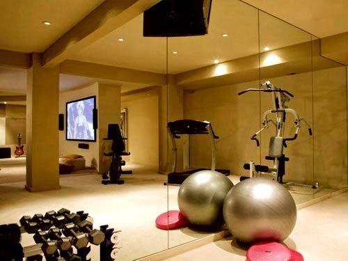 Gambar merencanakan desain ruangan gym di rumah anda terbaru