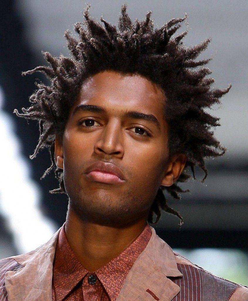 Various options for black men hairstyles medium long black mens