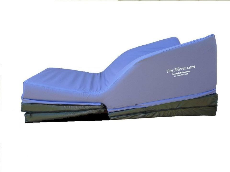 Great The Comfy Lift™ Bed Has A Patented Design That Features An Elevated Head  Rest