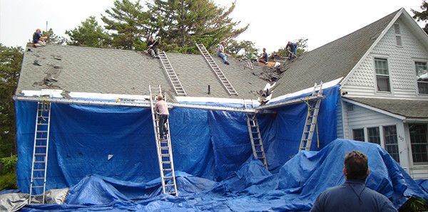 Asphalt Shingles Roof Replaces With Metal Roofing