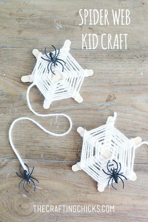 Pin by Cheryl Opgrand on kids crafts Pinterest Spider, Craft and - spider web decoration for halloween