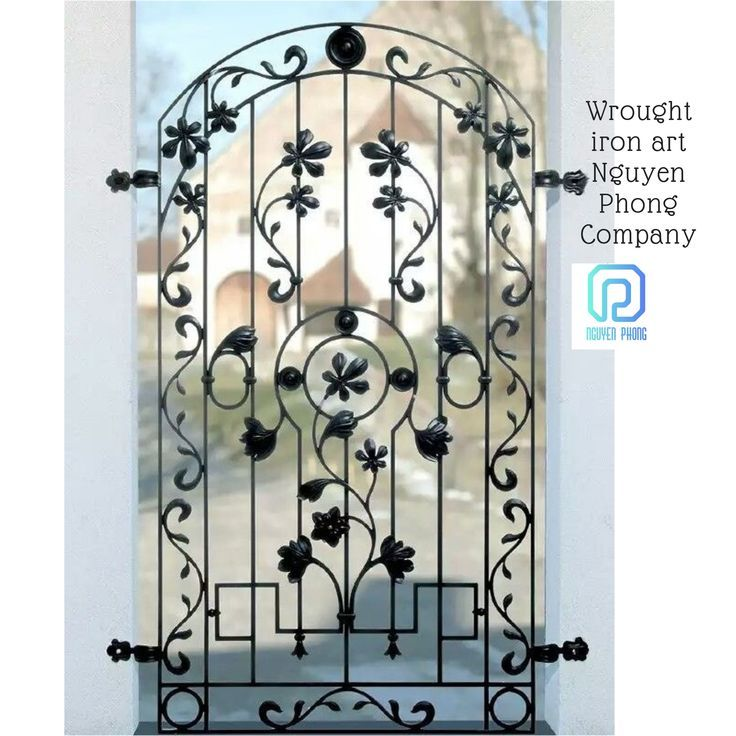 Iron Door For You Garden In 2020 Iron Doors Wrought Iron Doors