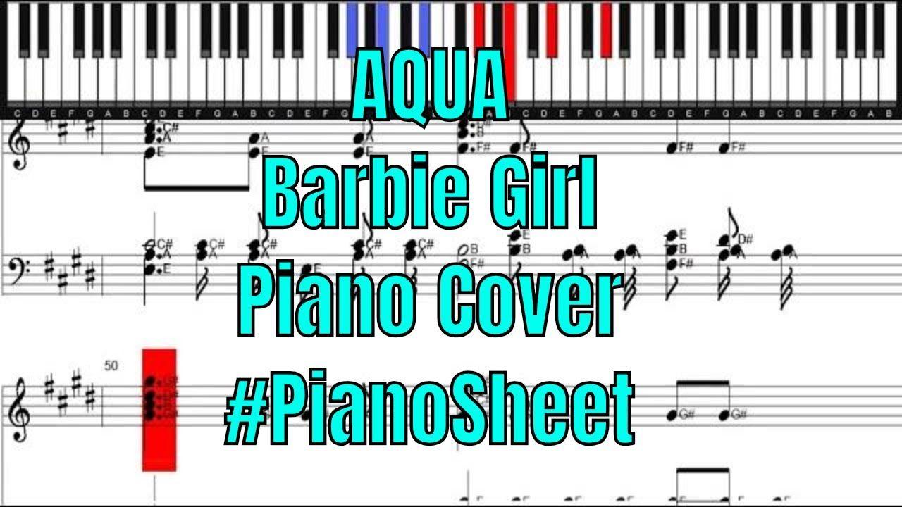 Aqua Barbie Girl Piano Cover Aqua Barbie Girl Aqua Barbie Piano Cover