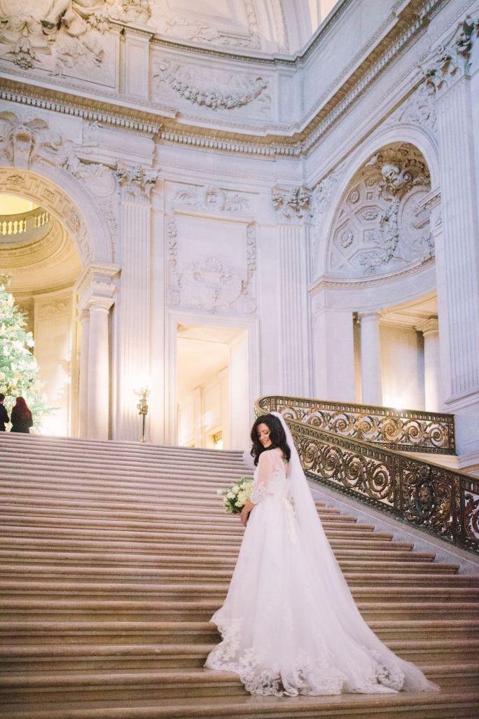San Francisco City Hall Mayors Balcony Wedding 014 Wedding