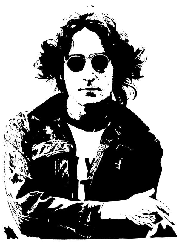 John Lennon 1974 By Ayd Instone
