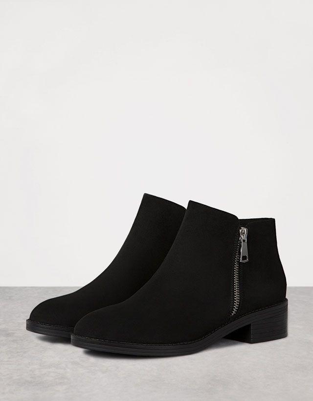 9e0f92a0 Zapatos - MUJER - NOVEDADES - Bershka Mexico | de todo | Boots, Shoe ...
