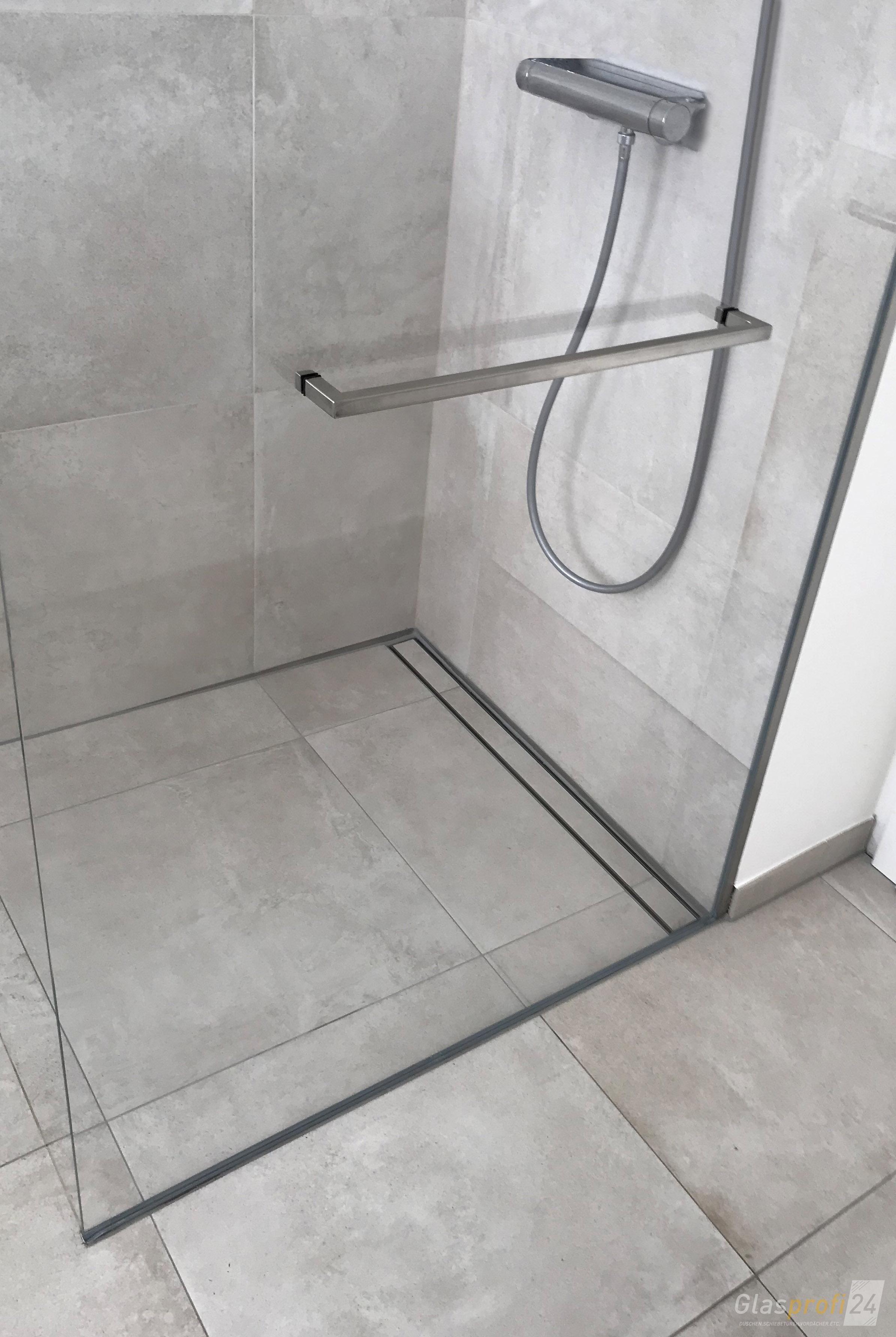 Im Detail Betrachtet Ist Die Hochwertige Ausfuhrung Der Dusche