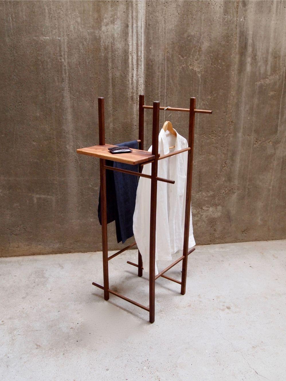 Minimal Stummer Diener Holz Mit Ohne Regal Tidyboy Berlin Minimal Furniture Valet Stand Fine Furnishings