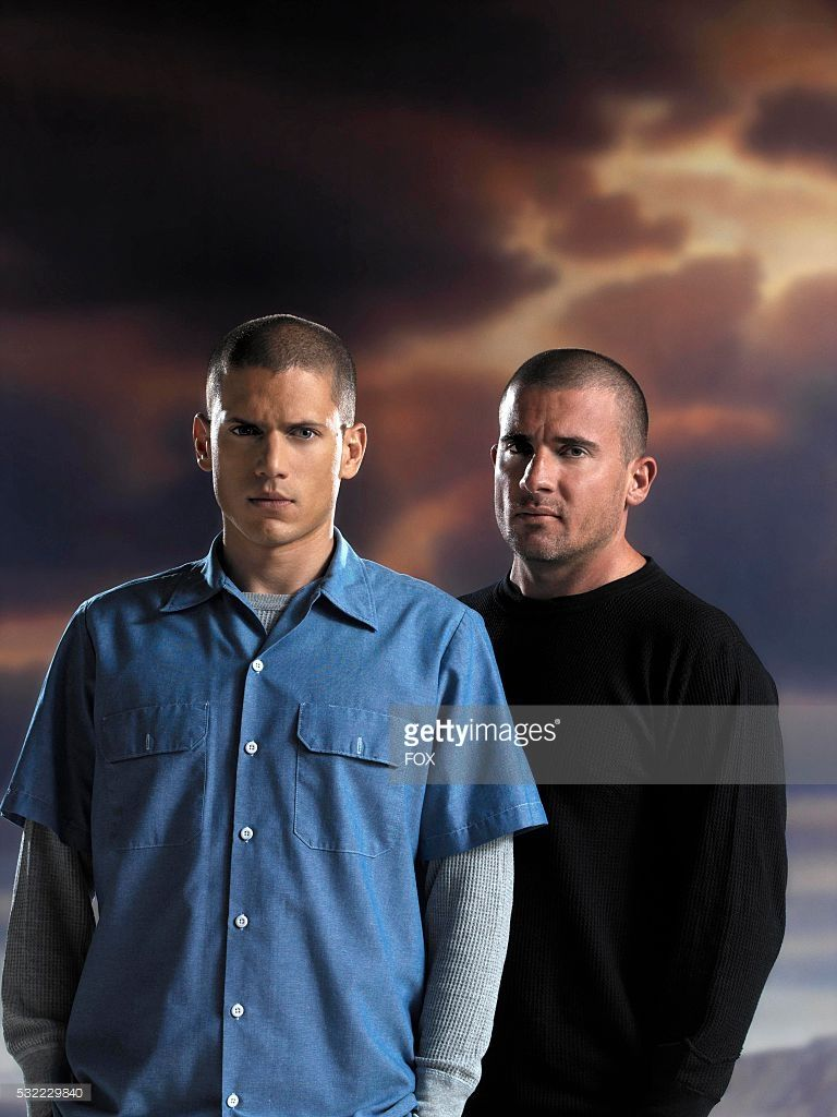 Wentworth Miller (R) and Dominic Purcell (L) are set to reprise their roles as Michael Scofield and Lincoln Burrows in the new, thrilling event series based on its hit series PRISON