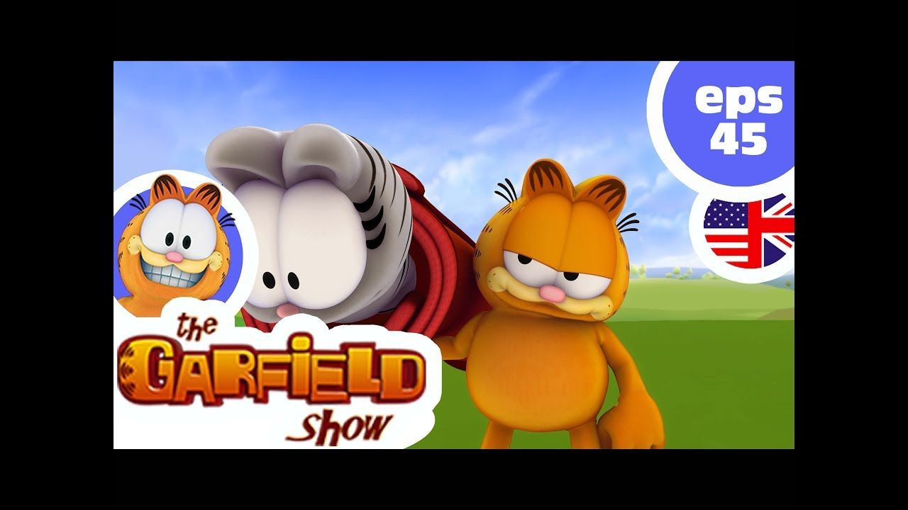The Garfield Show Ep45 Family Picture Garfield Garfield And Odie Bunny Slippers