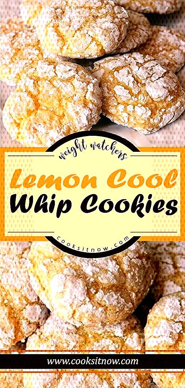 Lemon Cool Whip Cookies, Just 4 ingredients to make this delicious amp easy lemon cool whip cookies r