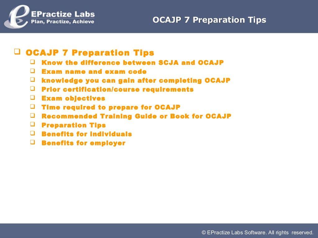 Ocajp 7 preparation tips by barath ganesh via slideshare java explore ganesh java and more 1betcityfo Image collections