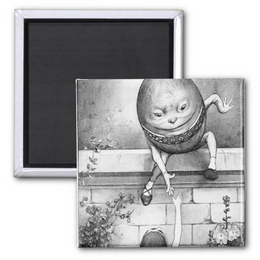 Humpty Dumpty Fridge Magnets #HumptyDumpty #Magnet