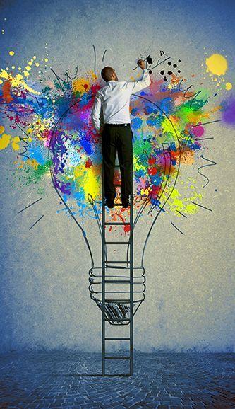 En pinterest encontraras ideas artísticas, para  utilizarlas como una fuente de inspiración para cualquier momento.