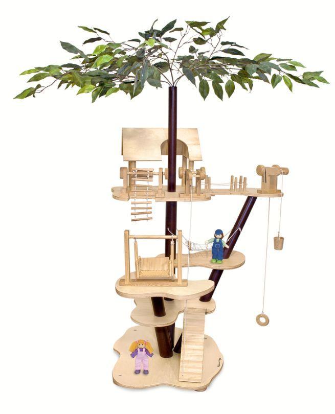 Miniature Tree House miniature tree house set | makin a dollhouse! | pinterest
