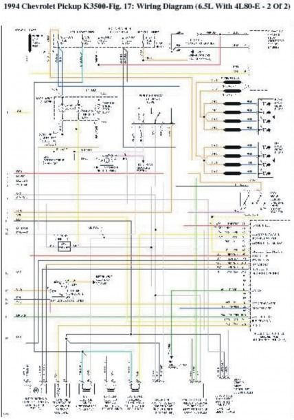 1994 Chevy 1500 Wiring Diagram